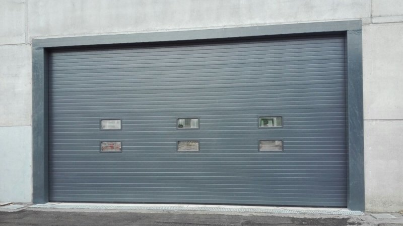 porte industriali